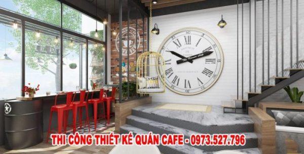 ý tưởng thiết kế quán cà phê