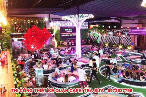 cafe cá koi Tân Phú tphcm