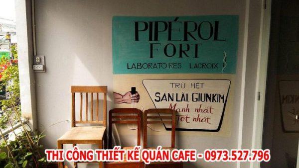 quán cafe phong cách vintage ở tphcm