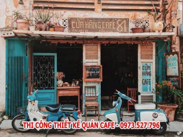 cafe phong cách vintage