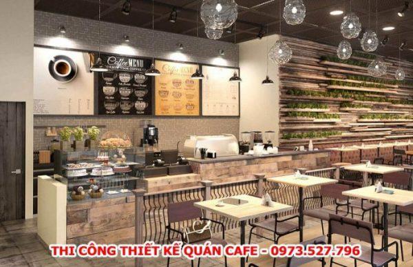 Thiết Kế Quán Cafe Lạ