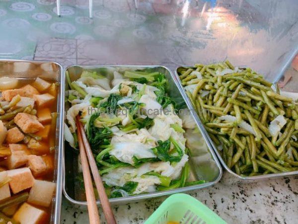 ẩm thực chay cafe cá KOI