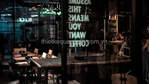 Thiết kế quán cafe đơn giản và đẹp