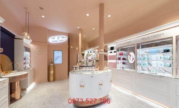 Thiết kế showroom mỹ phẩm đẹp quận 1