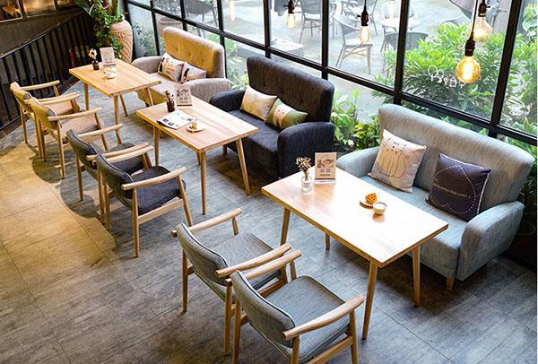 Bàn ghế cho quán cafe