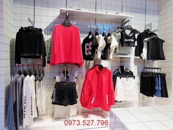 Thiết kế shop bán quần áo và ảnh shop bán quần áo