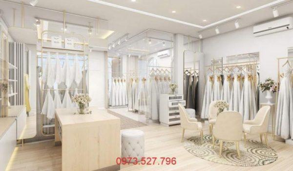 Thiết kế showroom áo cưới quận 12