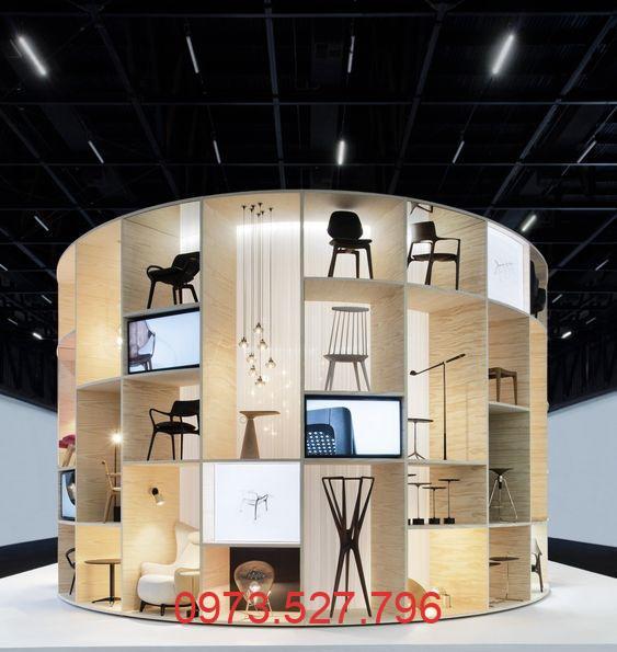 Thiết kế showroom nội thất đẹp giá rẻ