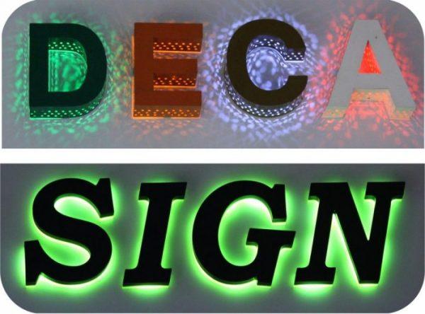 Thiết kế thi công Bảng hiệu hộp đèn quận 12